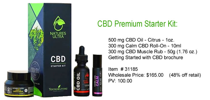 Nature's Ultra CBD Oil Starter Kit